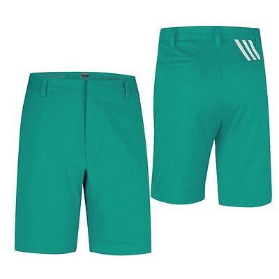 Adidas Puremotion Stretch 3-Stripes Mens Performance Golf Shorts