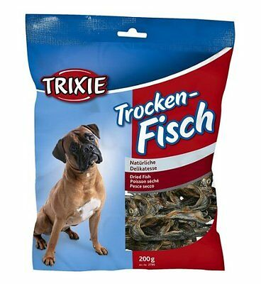 Trixie Sprats, dried fish, for dogs, high protein, high Omega 3 (2799)(2800)
