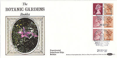 (41701) CLEARANCE GB Benham FDC D71 Botanic Gardens Pane - Windsor 29 Sept 1987