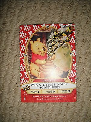 Disney Sorcerer's of the Magic Kingdom LIGHTNING Card Winnie The Pooh Honey Bees