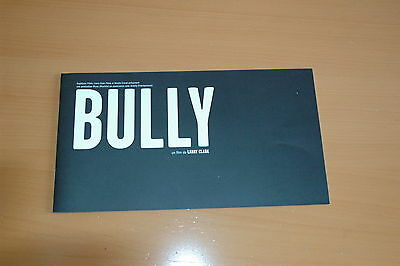 Larry Clark Bully 2001 Rare French Pressbook