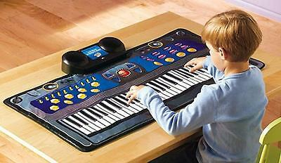 Kid's Fun Fold and Go 61 Key Electronic Keyboard Piano Great for Travel New