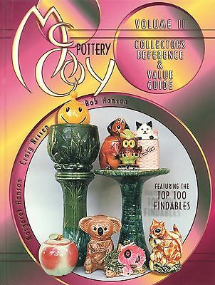 McCoy Art Pottery – Marks Patterns Forms Dates / Illustrated Book + Values