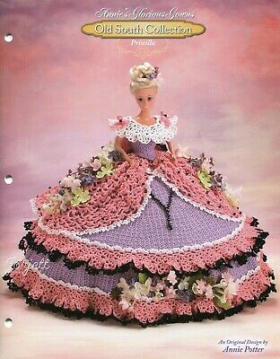 Priscilla, Annie's Glorious Gowns Old South Collection crochet patterns