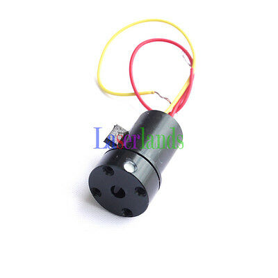 1pc 635nm 5mw 3.5mw Orange/Red Line Laser Module Diode Glass Lens for Level