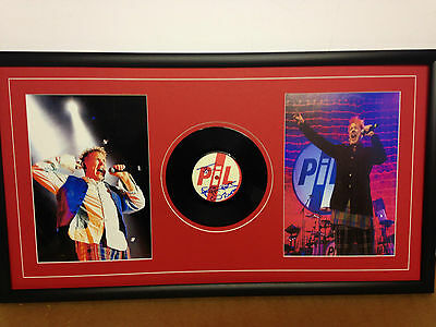 Sex Pistols Genuine Hand Signed/Autographed LP Cover with Vinyl & COA
