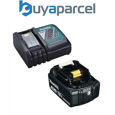 Genuine Makita 18V 3.0Ah LXT Lithium Battery BL1830 + DC18RC Fast Charger