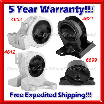 for 00-05 Eclipse 2.4L With Automatic Trans Engine Transmission Mounts 4pc Kit