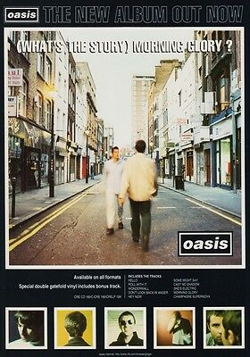 OASIS (What's The Story) Morning Glory PHOTO Print POSTER Noel Gallagher 001