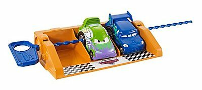 NEW Disney/Pixar Cars Riplash Racers Wingo and DJ with Launcher (2 pack)