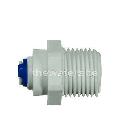 """1/4"""" Push Fit - 1/2"""" Bsp Threads  Quick Fitting Ro Water Filter"""