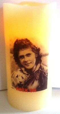 DAVID ESSEX ELECTRONIC FLICKERING CANDLE flameless