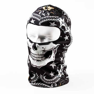 Motorbike Animal Skull Face Mask- Balaclava Neck Hat Scarf- Ski Cycle- 12 Styles