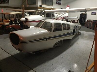 1967 MOONEY M20F, 3800 TT, COMPLETE AIRFRAME WITH LITE GEAR UP DAMAGE ONLY CHEAP