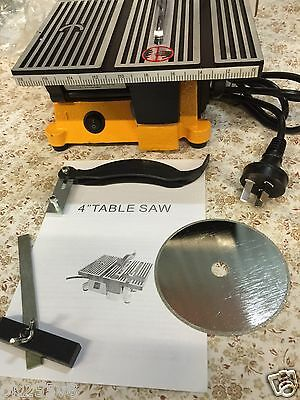 """Mini / Miniature 4"""" Table Saw For Hobbies 5 Star Aussie Seller. Free Shipping!!"""