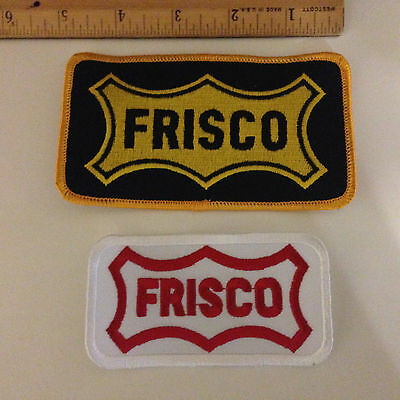 Two Frisco (SLSF) Patches  - NEW