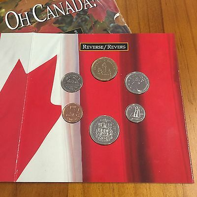 1995 Oh Canada! Brilliant Uncirculated 6 Coin Set - Royal Canadian Mint