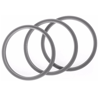 3 NUTRIBULLET GASKET SEAL Seals Grey Ring For 900W & Most 600W 1200W blade