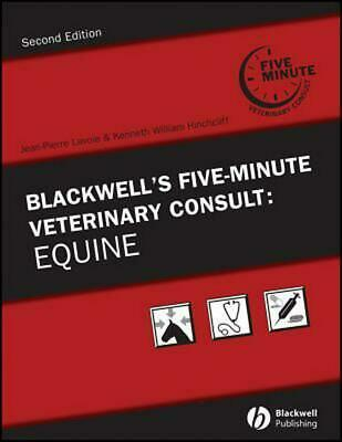 Blackwell's Five-Minute Veterinary Consult: Equine by Jean-pierre Lavoie (Englis