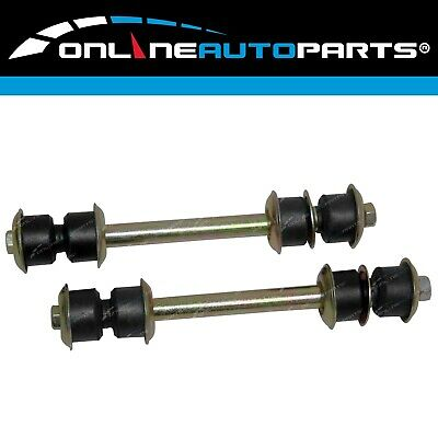 Front Stabiliser Sway Bar Link+Bush Kit suits Landcruiser HJ75 FJ75 70 75 Series