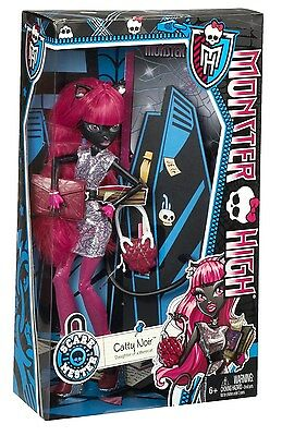 New Monster High Scaremester Catty Noir Doll & Accessories Free Shipping