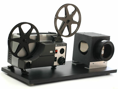 Movie Projector, Telecine Video Transfer, Dual 8, Reg.8 & Super 8 Silent to DVD