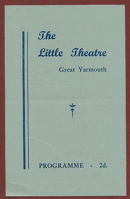 Great Yarmouth. Little Theatre.   'Claudia'  Evelyn Phillips ed3