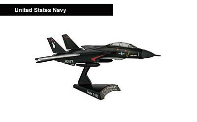 Model Power Postage Stamp Jet Airplane F-14 Black Bunny US Navy 1/160 MP5383-1