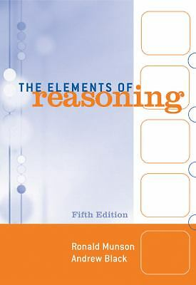 The Elements of Reasoning, Black, Andrew, Munson, Ronald, Good Book