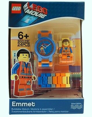 Emmet The LEGO MOVIE Build Your Own Kid WATCH NEW 9001291 24 pieces Ages 6+