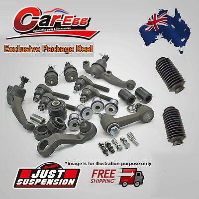 10x Ford Raider 4WD Steering Rack Tie Rod Ends Ball Joint Idler Pitman Arm 91-96