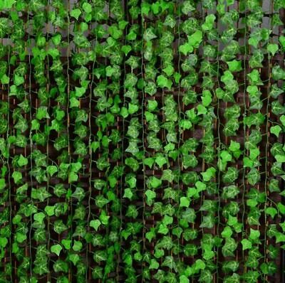 2.5M Artificial Ivy Leaf Garland Plant Vine Fake Foliage Flowers Home decor one