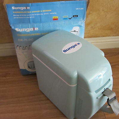 New Travel 12V Thermoelectric Cooler & Warmer Sungale 7 liter