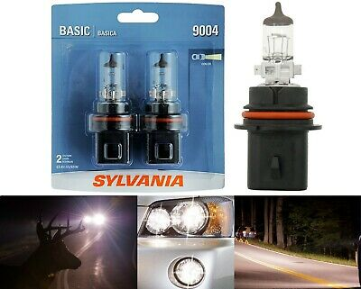 SYLVANIA BASIC 9004 HB1 65/45W TWO BULB HIGH QUALITY STOCK REPLACE HEADLIGHT DOT