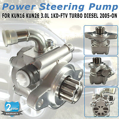 Power Steering Pump for Toyota Hilux KUN16 KUN26 3.0L 1KD-FTV Turbo Diesel 05-ON