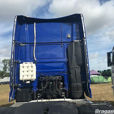 DAF XF106 Super Space Cab Stainless Steel Perimeter / Wind Kit Light Strips