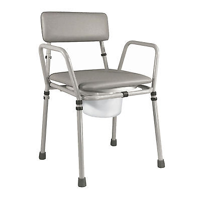 Commode Chair Height Adjustable Toilet