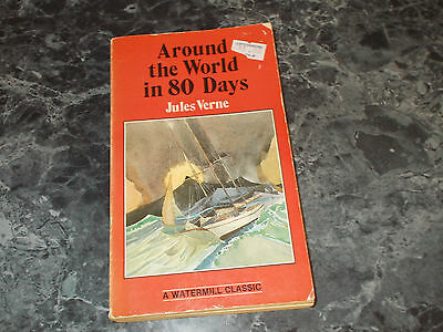 Around the World in 80 days by Jules Verne  Paperback