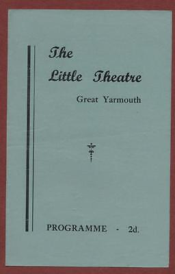 Great Yarmouth. Little Theatre. 1947  'I Have Been Here Before'  ed10