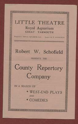 Great Yarmouth. Little Theatre. 'Lady Be Careful !' John Young  Basil Gough ed16