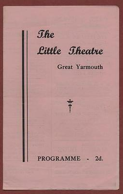 Great Yarmouth. Little Theatre. 'Short Story' Ronald Leigh-Hunt  ed24