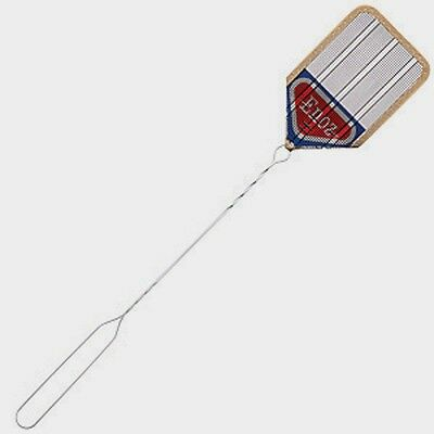 "New *ENOZ* Wire Mesh FLY SWATTER 4.25""x6.5"" Screen Blade Flying Insect Mosquito"