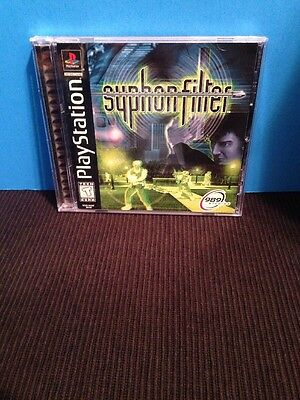 "SYPHON FILTER PS1 "" BLACK LABEL "" VERY GOOD  CONDITION """