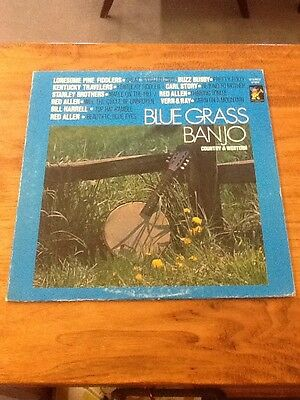 """BLUE GRASS BANJO Country & Western 12"""" LP 33 Rpm S 7052"""