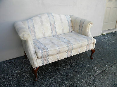 FRENCH LOVE SEAT / SETTEE BY BASSETT #2683