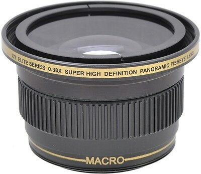 0.38X Super Wide Angle FISHEYE Lens for Nikon D5300 with 18-55mm Lens