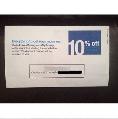 Lowes 10% off Lowes or Home Depot Expire 05/15/2015!!