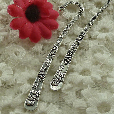 free ship 20 pieces Antique silver nice bookmark 80x16mm #2743