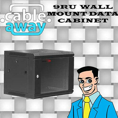 9RU Wall Mount Contractor Series 600mm x 450mm Data Cabinet