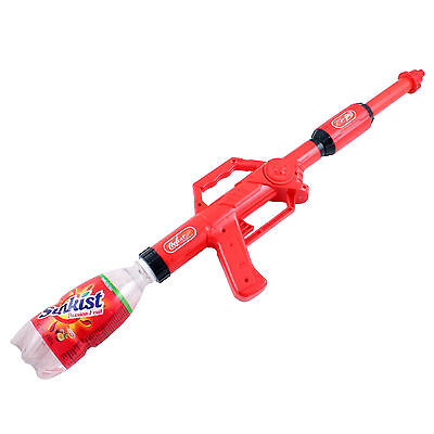 Cola Water Fight Blaster Super Soaker Gun Fits Screw Top Bottles